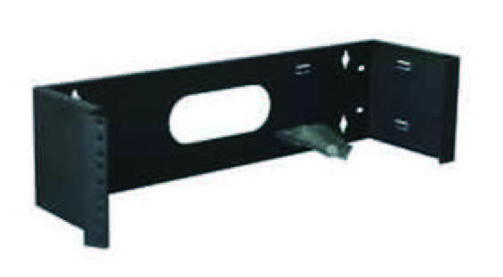 "Wall mounted brackets-19""format hinged design"