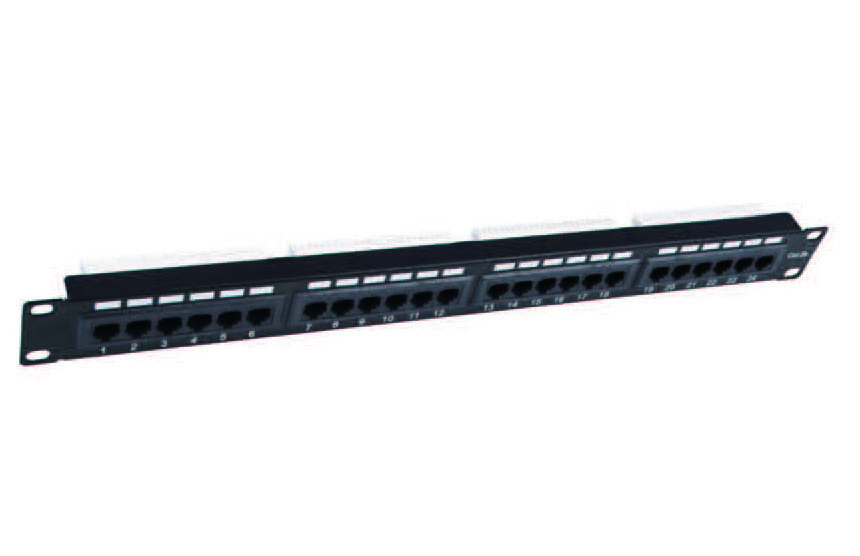 UTP CAT.5E PATCH PANEL 24PORTS   FD-PP10