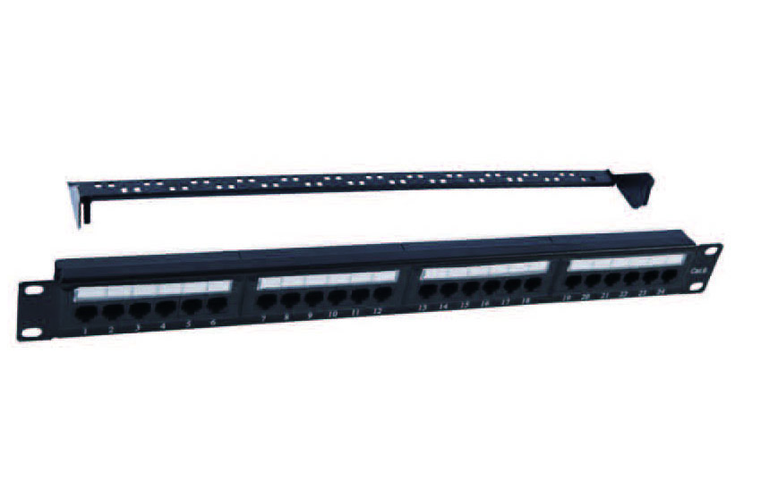 UTP CAT.5E PATCH PANEL 24PORTS   FD-PP09