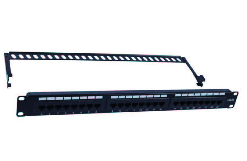 UTP CAT.6A PATCH PANEL 24PORTS  FD-PP08