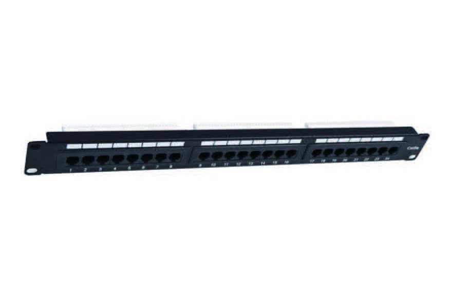 UTP CAT.6A PATCH PANEL 24PORTS FD-PP07
