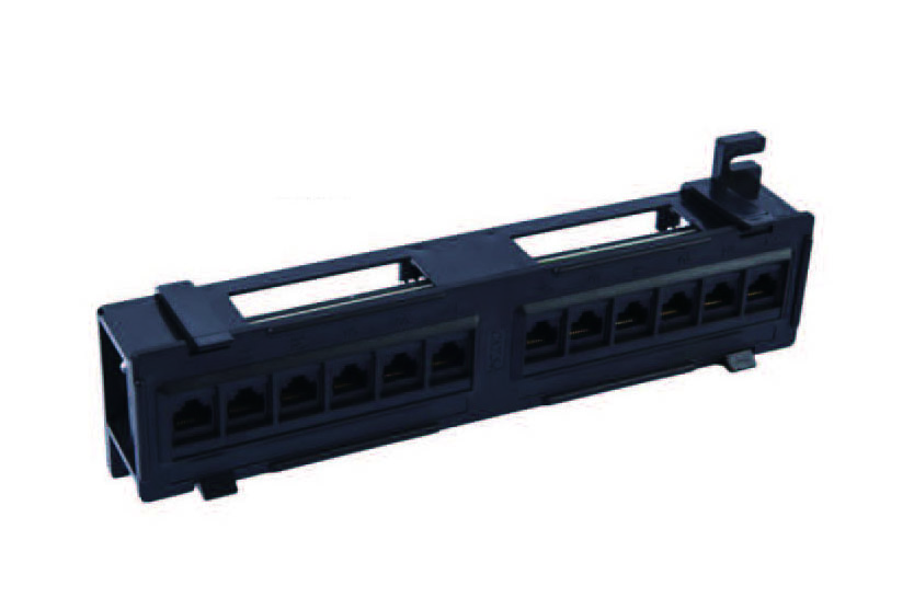 Cat.5e/Cat.6 8Ports UTP patch panel   FD-PP06