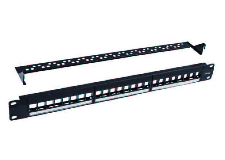 Cat.5e/Cat.6 24Ports UTP patch panel   FD-PP05