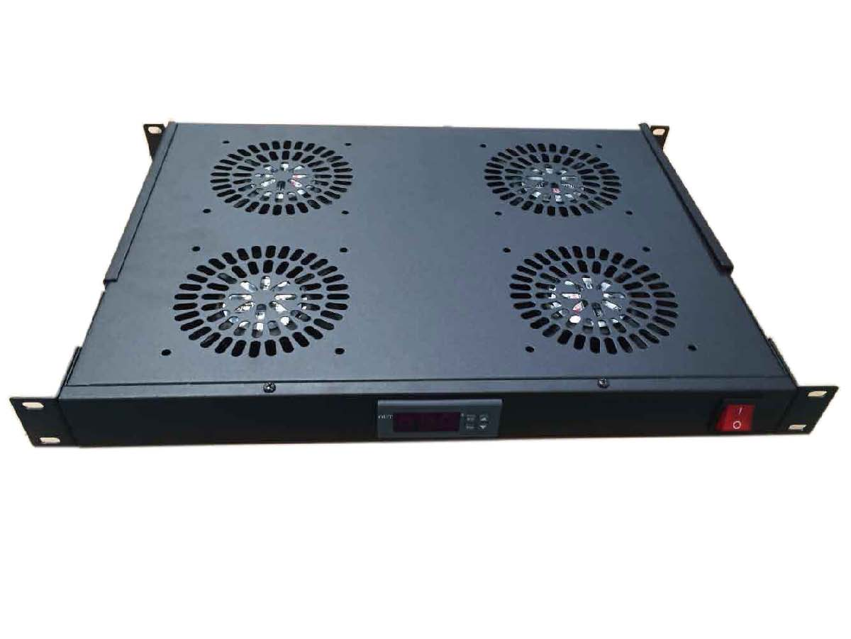 Fan unit with thermostat